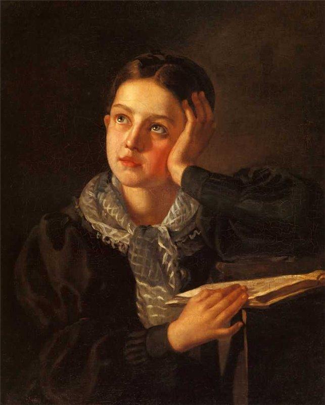 Alexey Tyranov - Portrait of a Girl