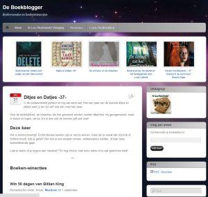 De boekenblogger